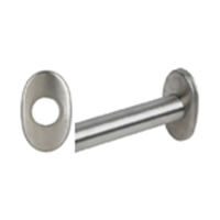 Oval Shower Rod Brackets