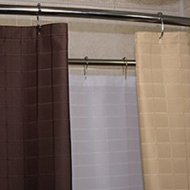 Custom Shower Curtains Polyester Millenium
