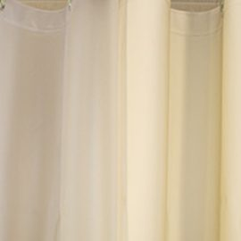 Custom Size Shower Curtains Eco-friendly Peva Plain