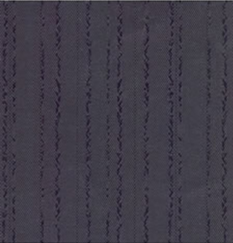 Custom Size Shower Curtains Polyester Kar-Rib Navy