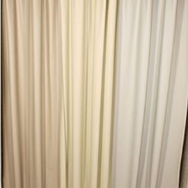 Custom Size Shower Curtains Vinyl Crepe
