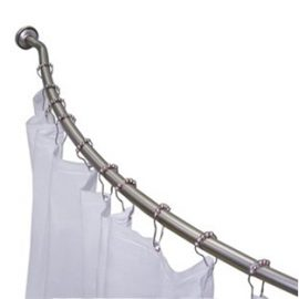 Custom Curved Shower Curtain Rods